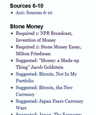Stone Money Links