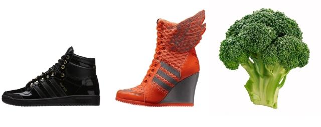 sneaker broccoli